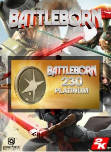 Battleborn: 230 Platinum Currency