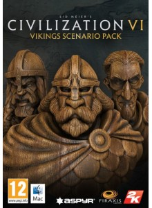 Civilization VI: Vikings Civilization & Scenario Pack PC/Mac Expansion