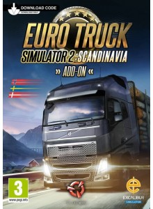 Euro Truck Simulator 2: Scandinavia PC/Mac (Expansion)
