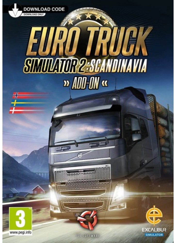 euro truck simulator 2 scandinavia pc mac download. Black Bedroom Furniture Sets. Home Design Ideas