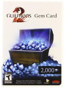 Guild Wars 2 Gem Card PC Download