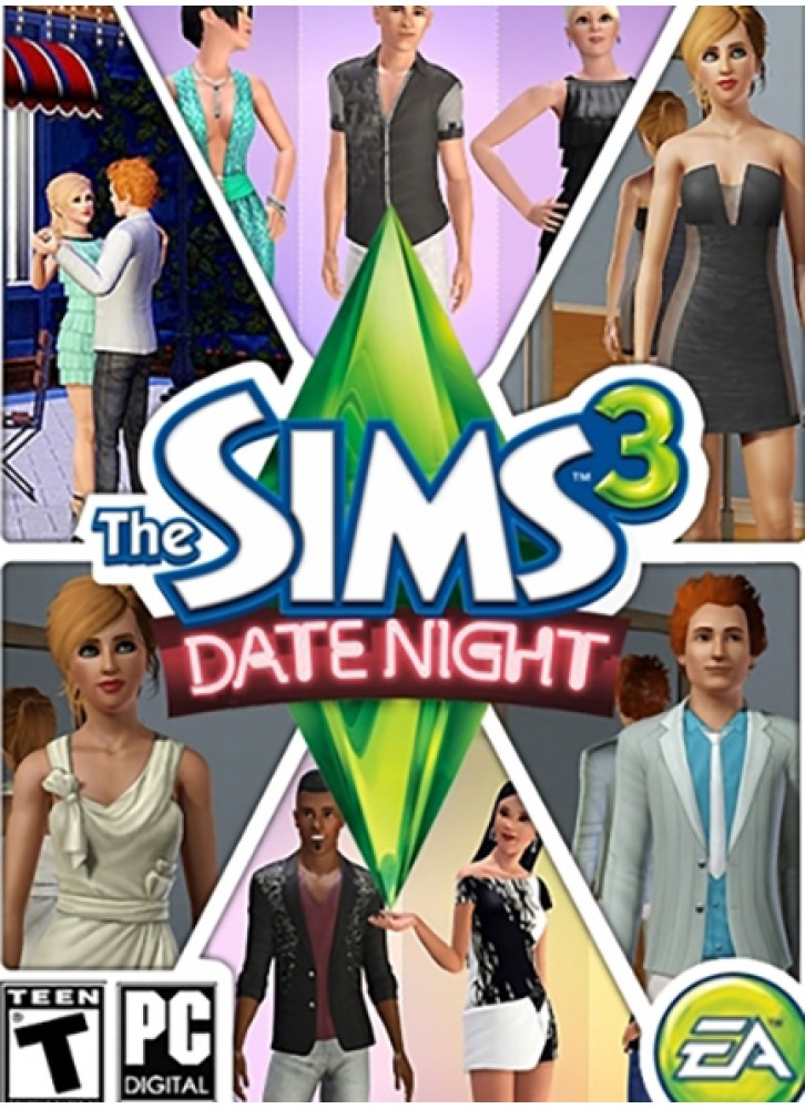 the sims 3 date night pc mac download official full game. Black Bedroom Furniture Sets. Home Design Ideas