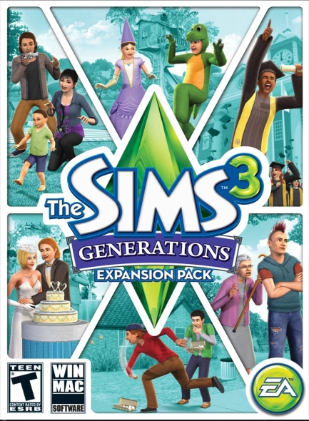 The Sims 3 Generations PC/Mac Download