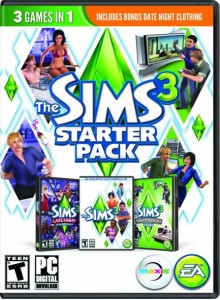The Sims 3 Starter Pack PC/Mac Download