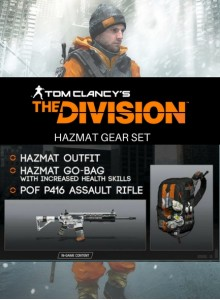 Tom Clancy's The Division: Hazmat Gear Set PC Expansion