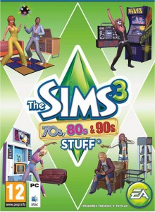 The Sims 3 70s, 80s & 90s Stuff PC/Mac Download