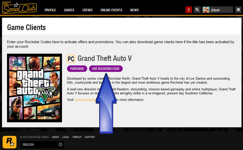 how to get activation code for gta 5 social club